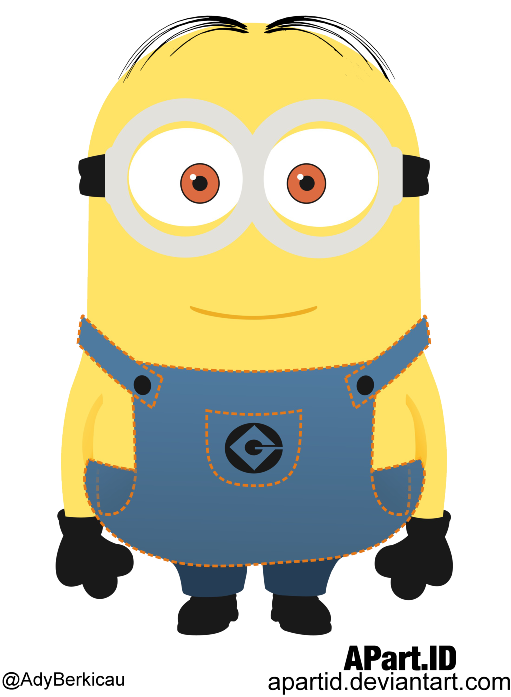 picture library stock Vector costume despicable me. Minion by apartid deviantart