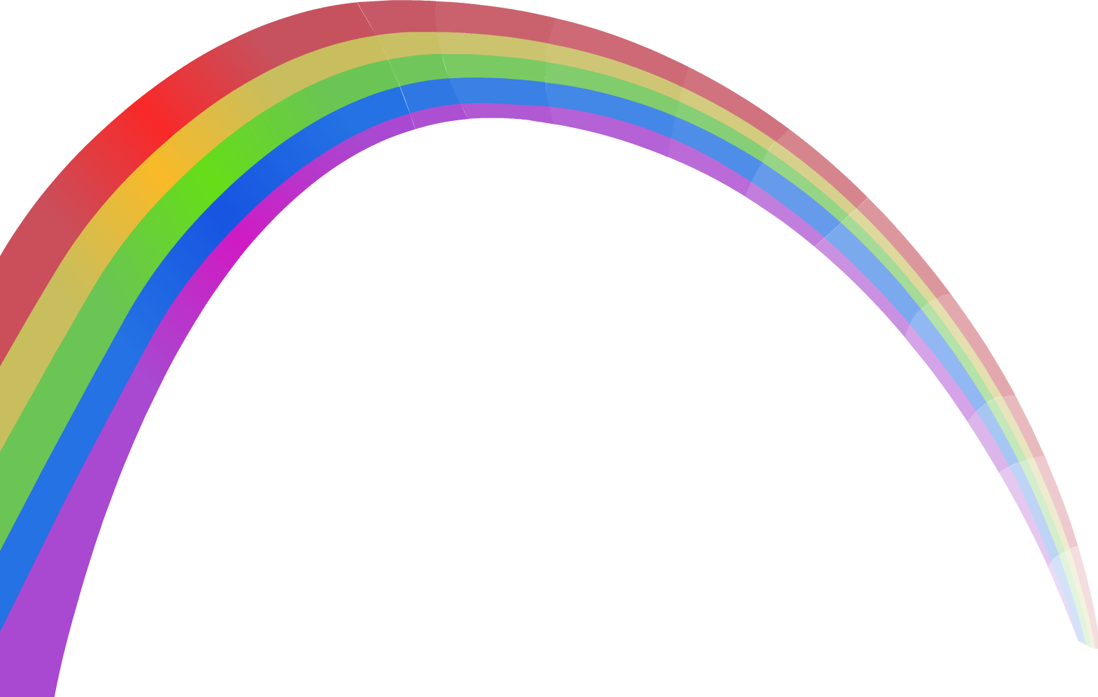 clip art transparent Rainbow png image purepng. Drawing rainbows mountain