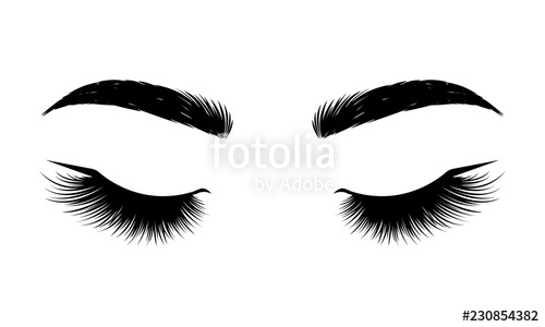 banner library Black lashes