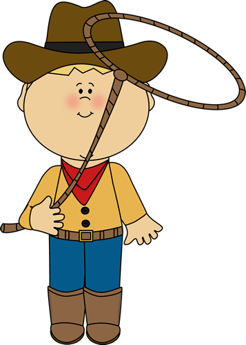 image library stock Children clipart cowboy. With a lasso printables.