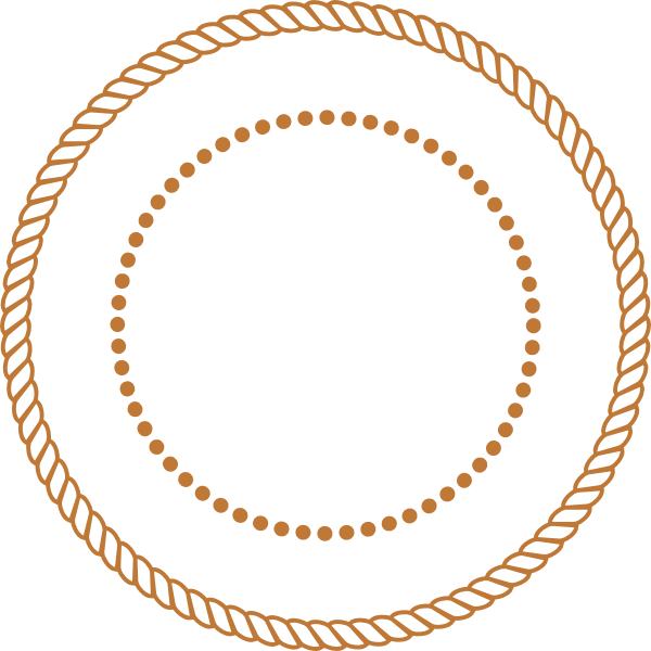 freeuse download Brown rope clip art. Lasso clipart