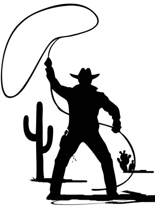 picture library library Great for cowboys not. Lasso clipart wild west.