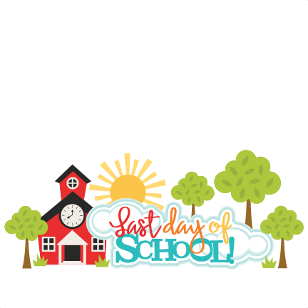 clipart library Last of clipart day. School title svg scrapbook.