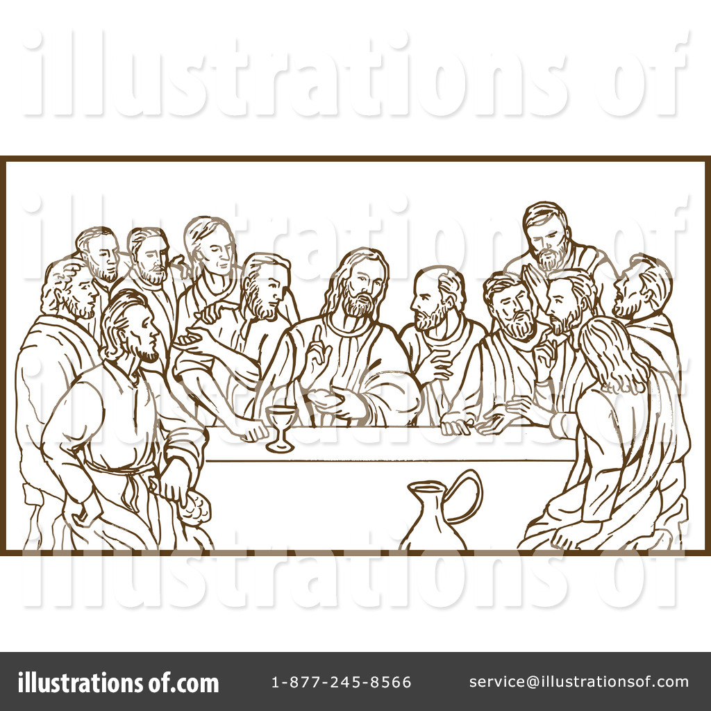 banner black and white stock Supper by patrimonio . Last of clipart illustration.