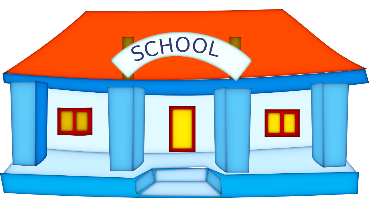 picture black and white stock School building clipart black and white. Panda free images info
