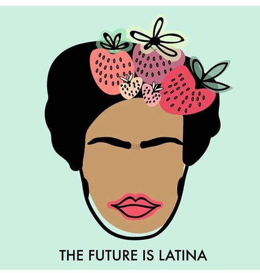 picture royalty free download The future is latina. Latinas clip.