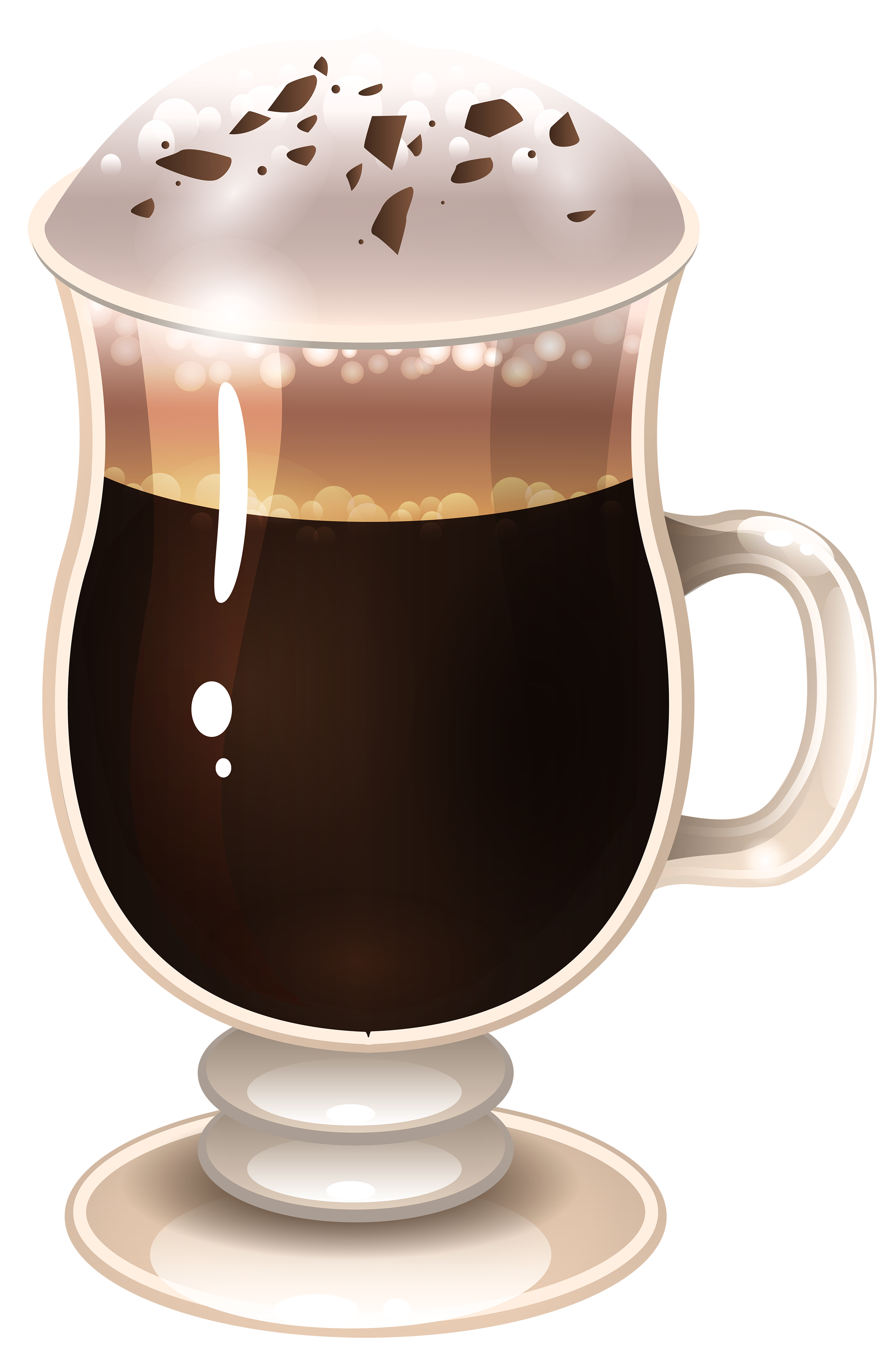 vector black and white download Latte png image gallery. Irish coffee clipart