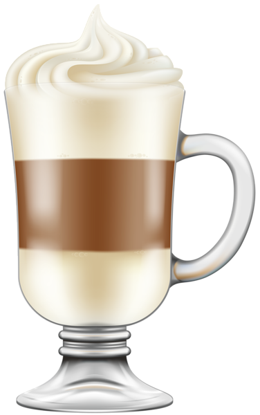picture freeuse library Cappuccino transparent png clip. Irish coffee clipart