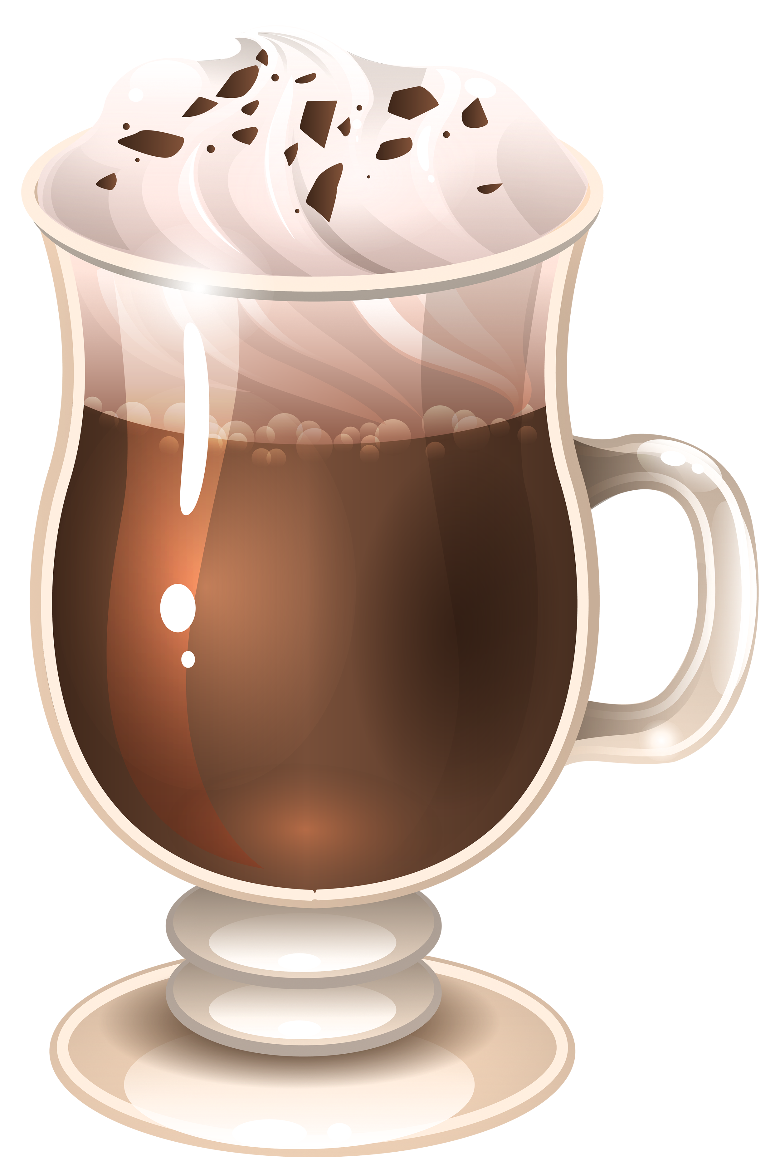 clip art black and white download Irish coffee clipart. Glass of latte png