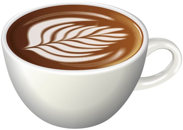 svg freeuse stock Coffee art png clip. Latte clipart outline.