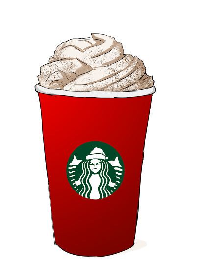 svg stock Starbucks Clipart starbucks pumpkin spice latte