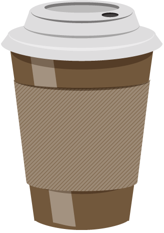 banner freeuse download  collection of latte. To go coffee cup clipart
