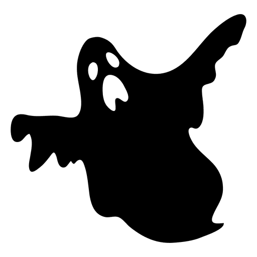 jpg royalty free stock Black ghost silhouette transparent. Bass svg cartoon