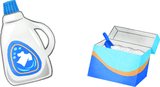 image transparent Liquid detergent and washing. Laundry clipart fabric softener.
