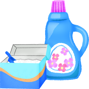 banner freeuse stock Washing powder and free. Laundry clipart fabric softener.