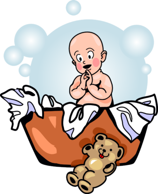 banner library download Laundry clipart happy. Image basket baby clip.
