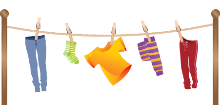 free stock Laundry clipart rope.  collection of dry.