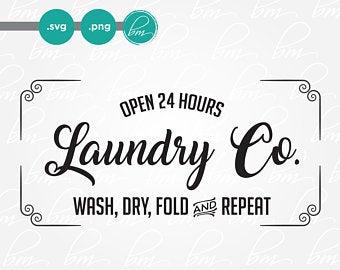 clip art royalty free library Laundry svg. Etsy
