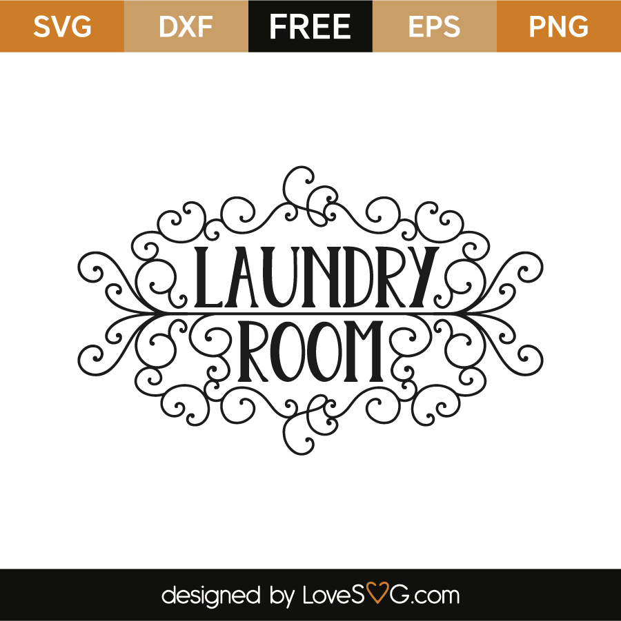 clipart transparent stock Laundry svg. Room lovesvg com