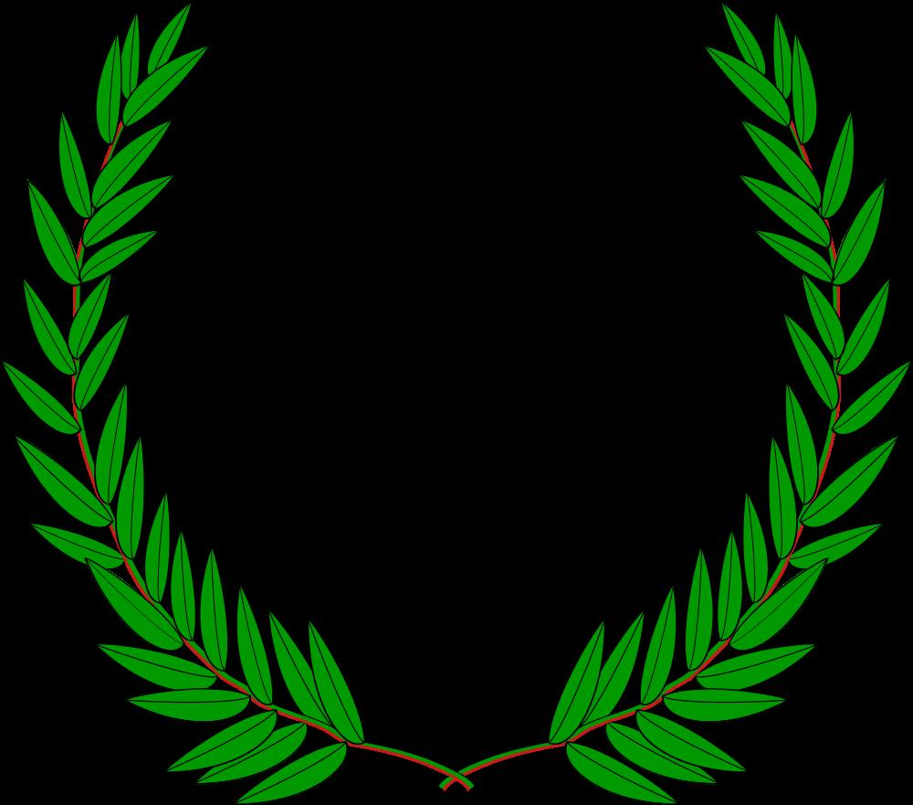 clip free Laurel clipart leaf. Onlinelabels clip art wreath.