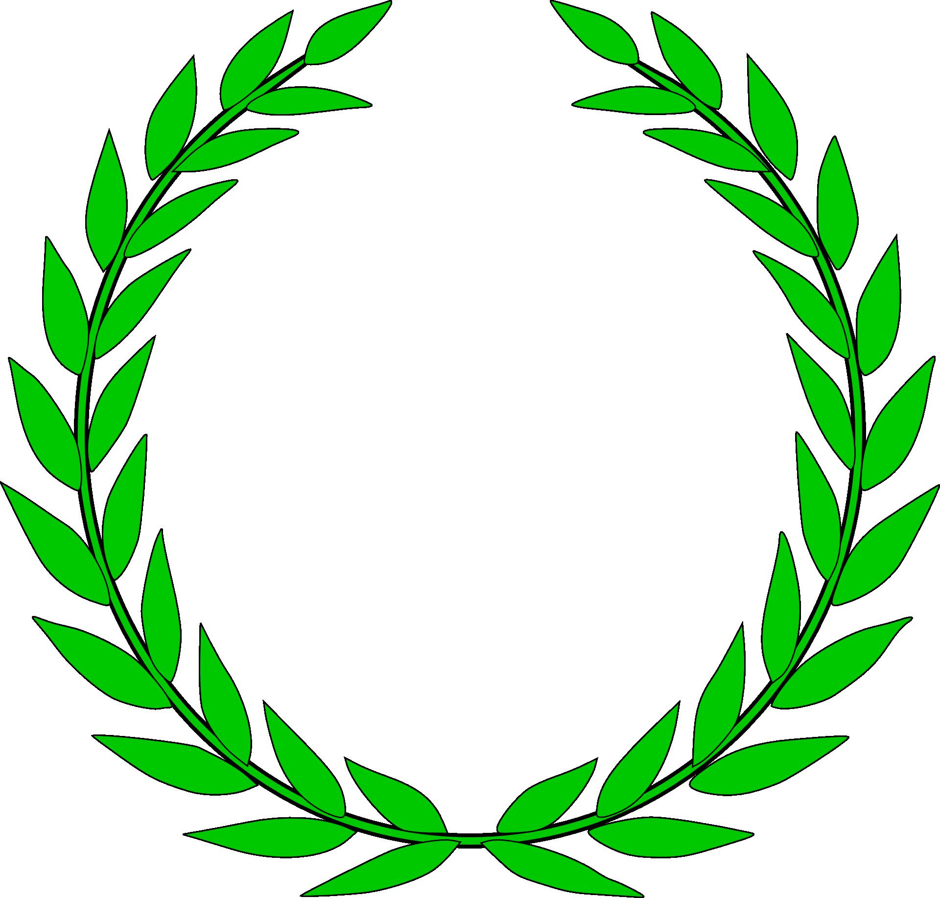 image freeuse library Laurel wreath Bay Laurel Crown Clip art