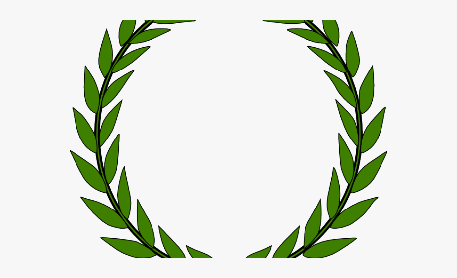 jpg free Wreath free cliparts . Laurel clipart olive branch.