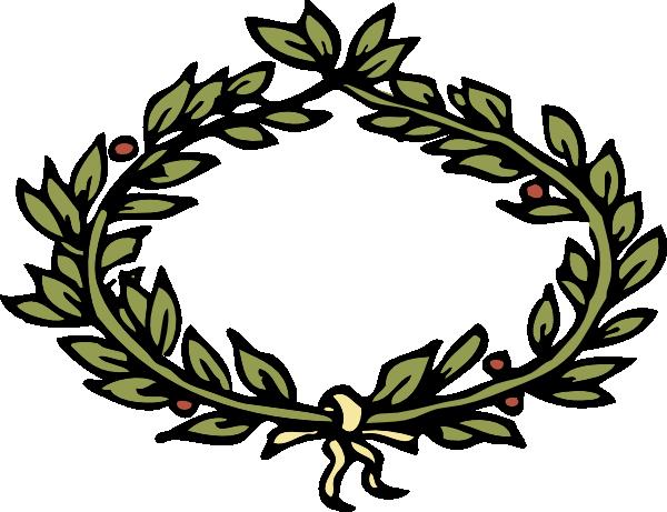 vector library Vines crown clip art. Laurels vector olympic