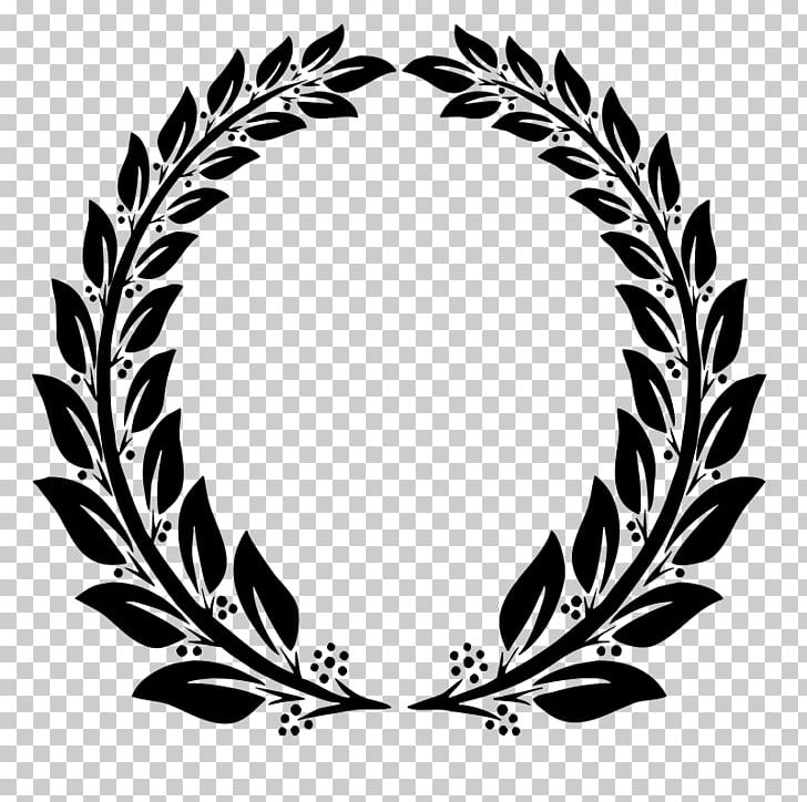 clip royalty free Jewellery png bay black. Laurel wreath clipart