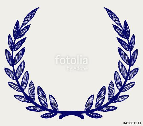 vector freeuse download Vector laurel wreath