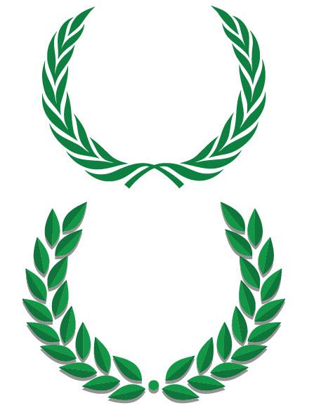 clipart stock Laurels vector olympic. Free laurel wreath clipart