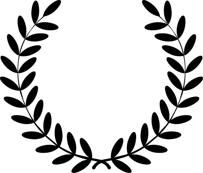 vector free library Olive Leaf Wreath Vector Free