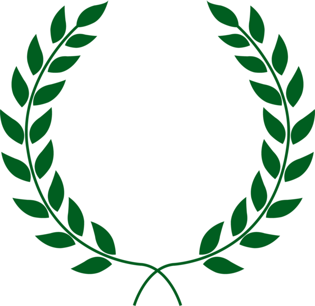 svg freeuse Laurels vector wreth. Laurel wreath psd official