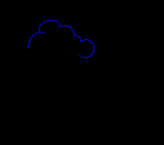 image How to Draw a Cartoon Tree