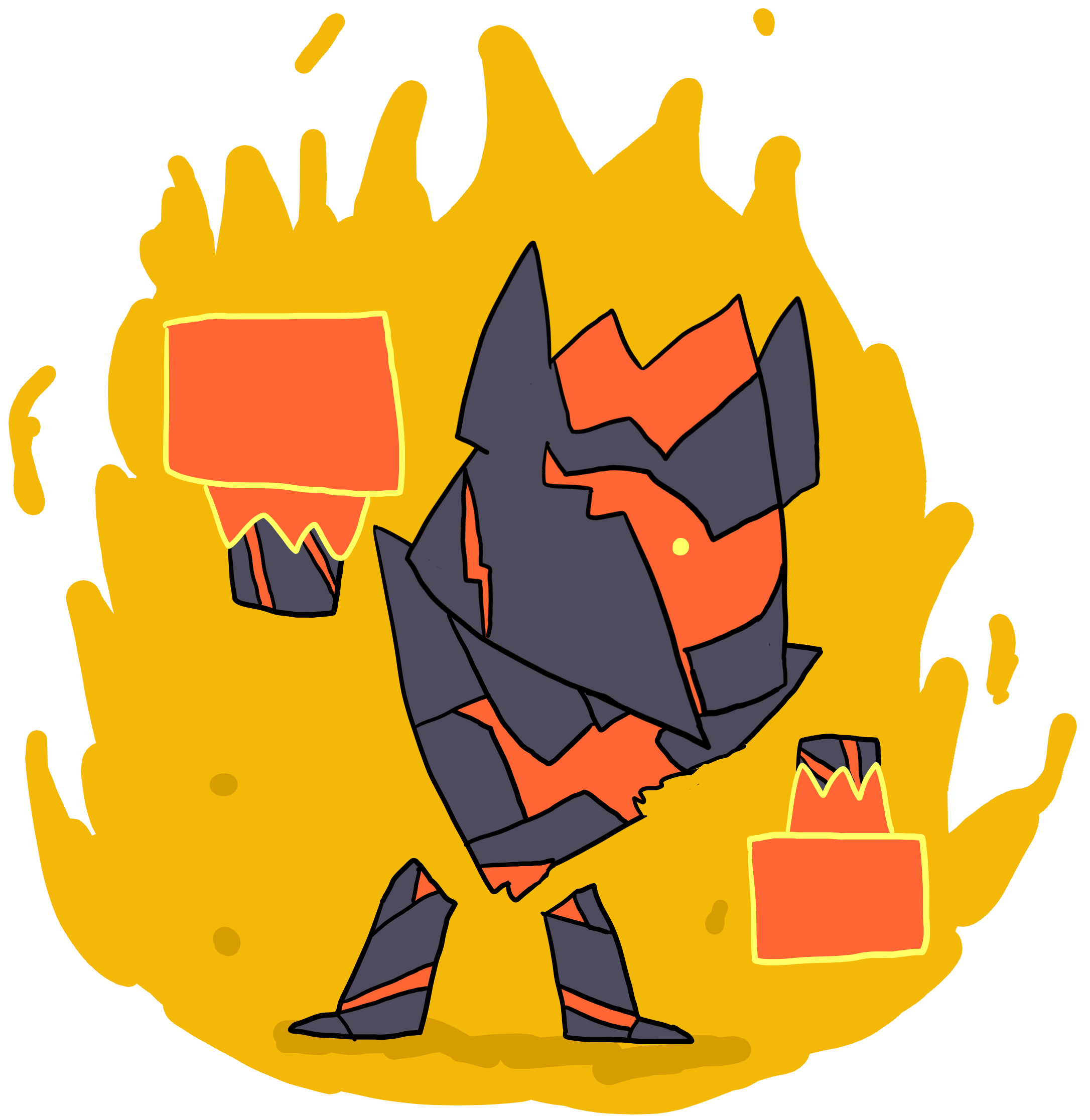 image library lava drawing magma #114103681