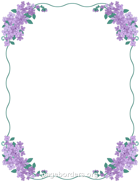 clipart free Lavender border clipart. Pin by muse printables