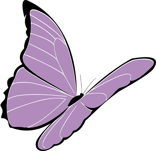 picture stock Lavender butterfly clipart. Purple clip art at.