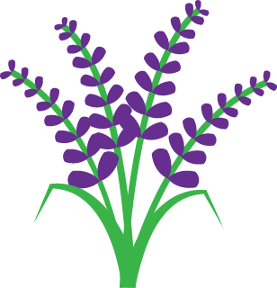 svg royalty free library Lavender clipart. Leaf free on dumielauxepices