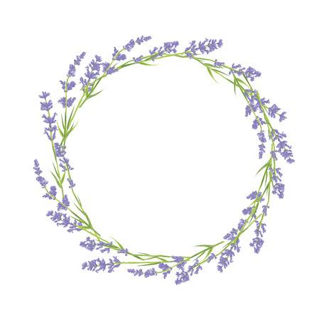 png free stock Lavender wreath clipart. Cliparts making the web