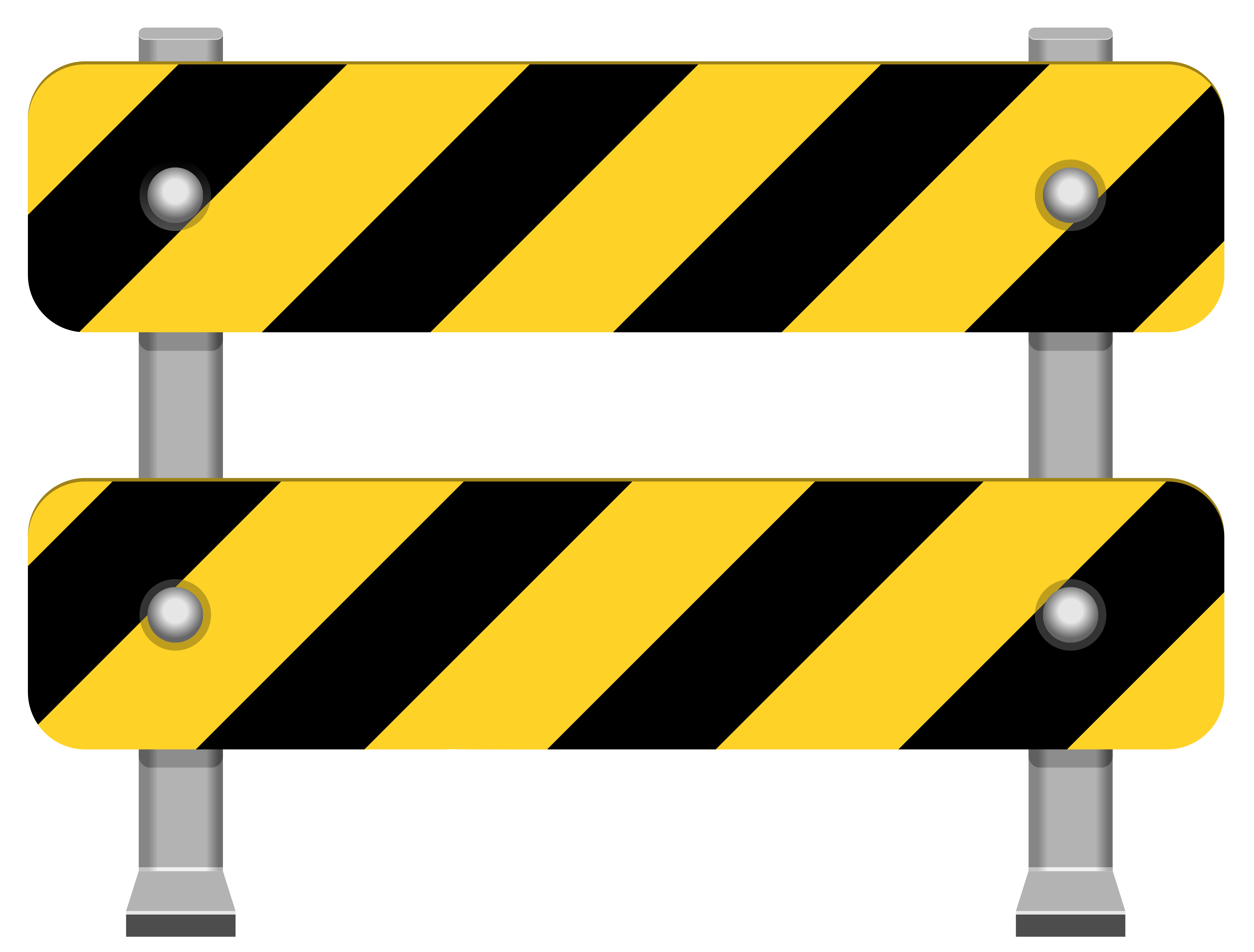 clip freeuse stock Yellow barricade png clip. Law clipart road.