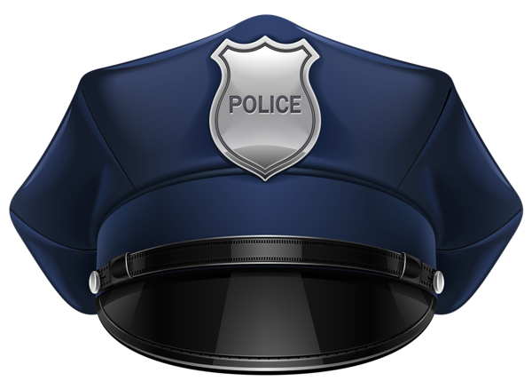 image black and white library Police Hat PNG Clipart