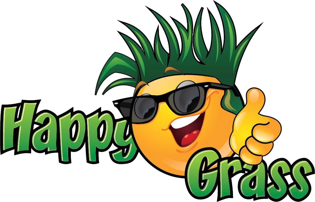 graphic stock Lawn care clipart happy. Grass commercial residential specialists.
