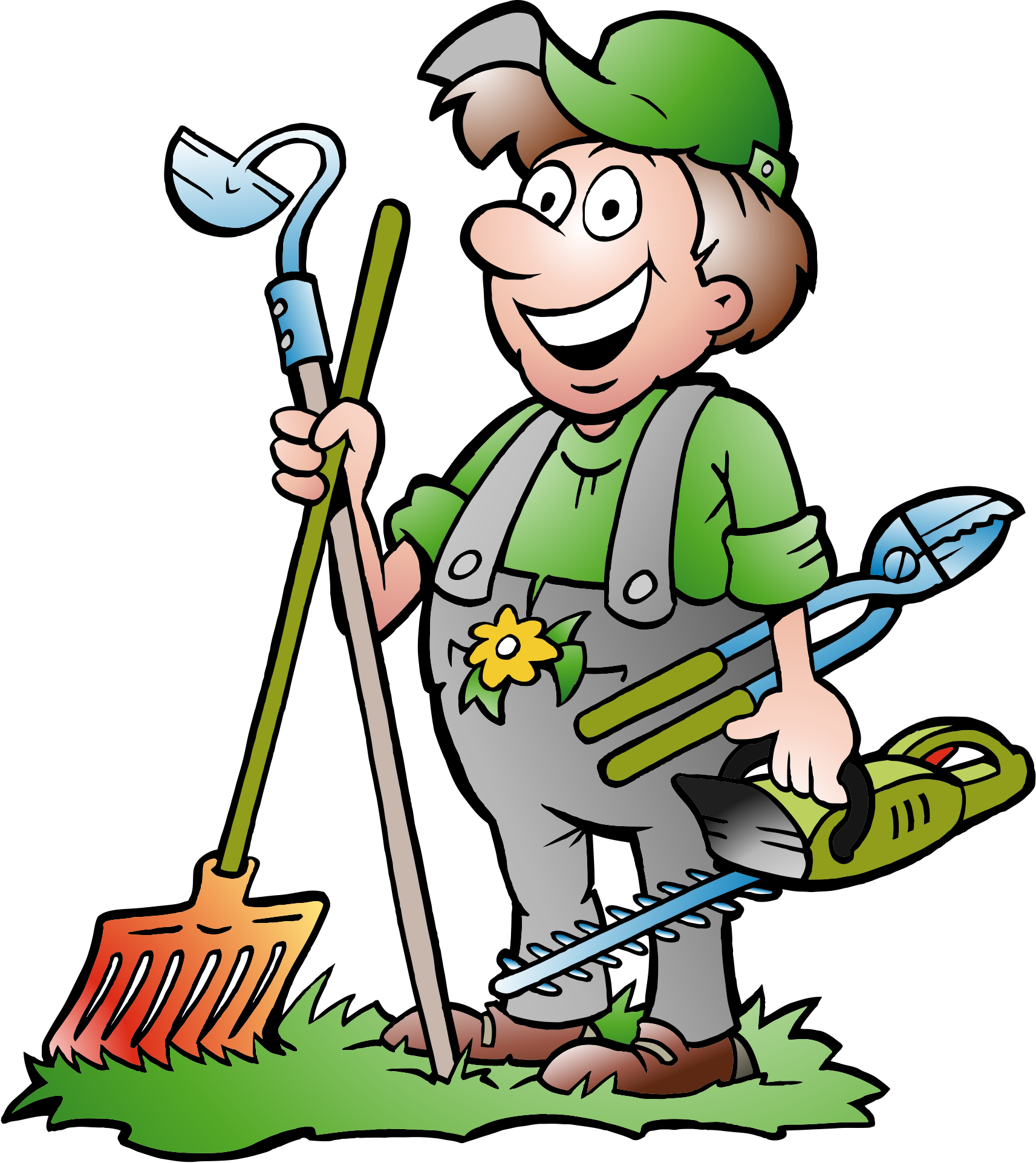 banner transparent library Landscape free on dumielauxepices. Lawn mower clipart yard work.