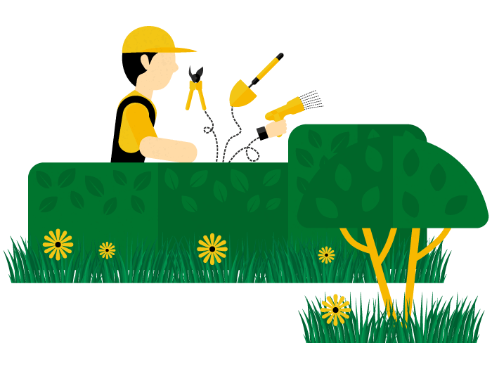royalty free stock Lawn clipart hedge trimming. Care in ottawa expert.