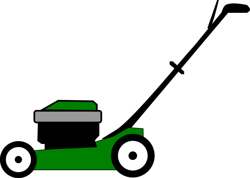 vector stock Lawnmower clipart. Medium image png