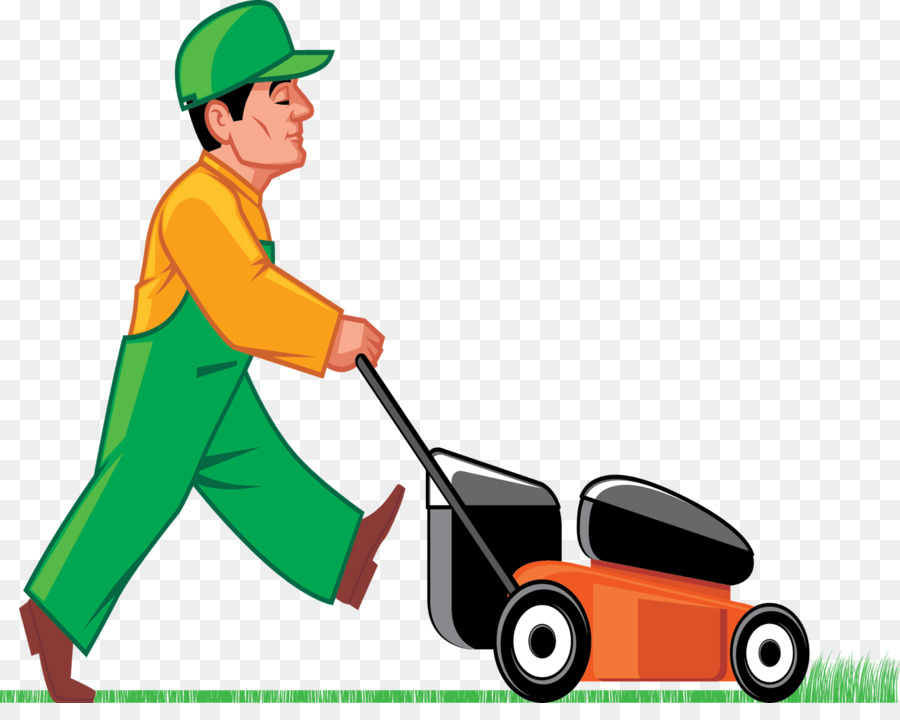 clip freeuse library Lawn mower clipart grass cutter. Tree line .