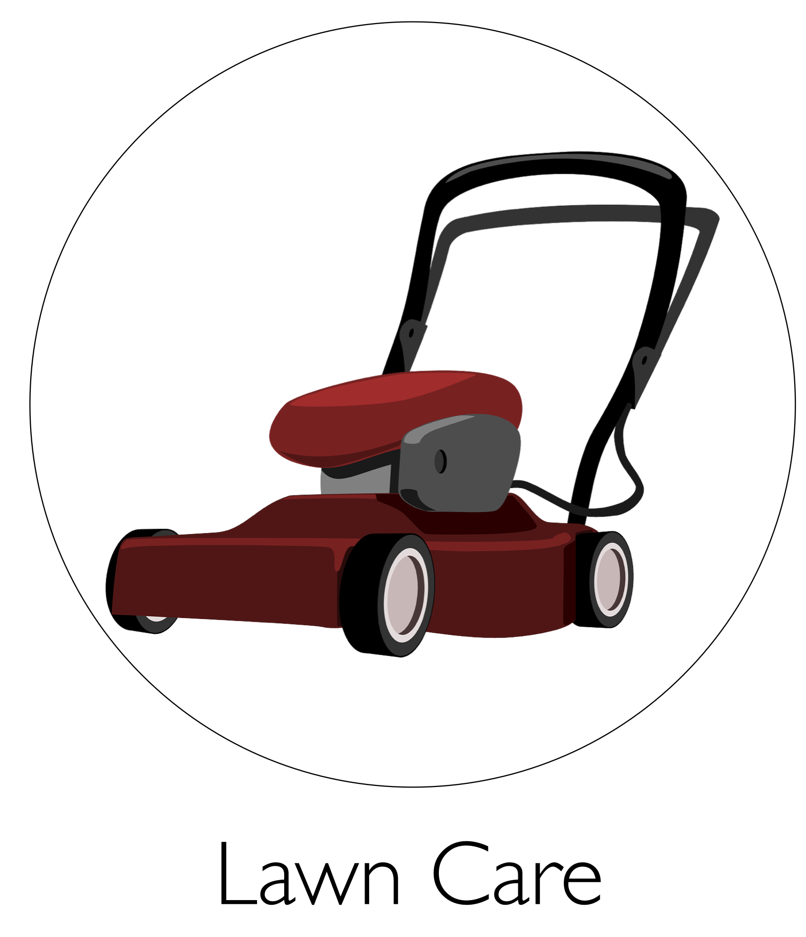 image library download Mowing . Lawn mower clipart grounds maintenance.