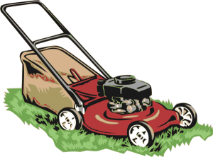 graphic library stock Lawn mower clipart grounds maintenance. Estate able facilities services.