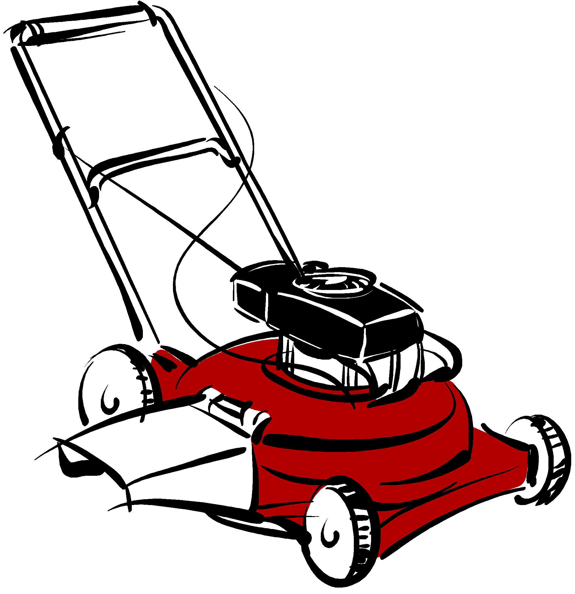 clip art freeuse download lawnmower clipart landscaping maintenance #80388867