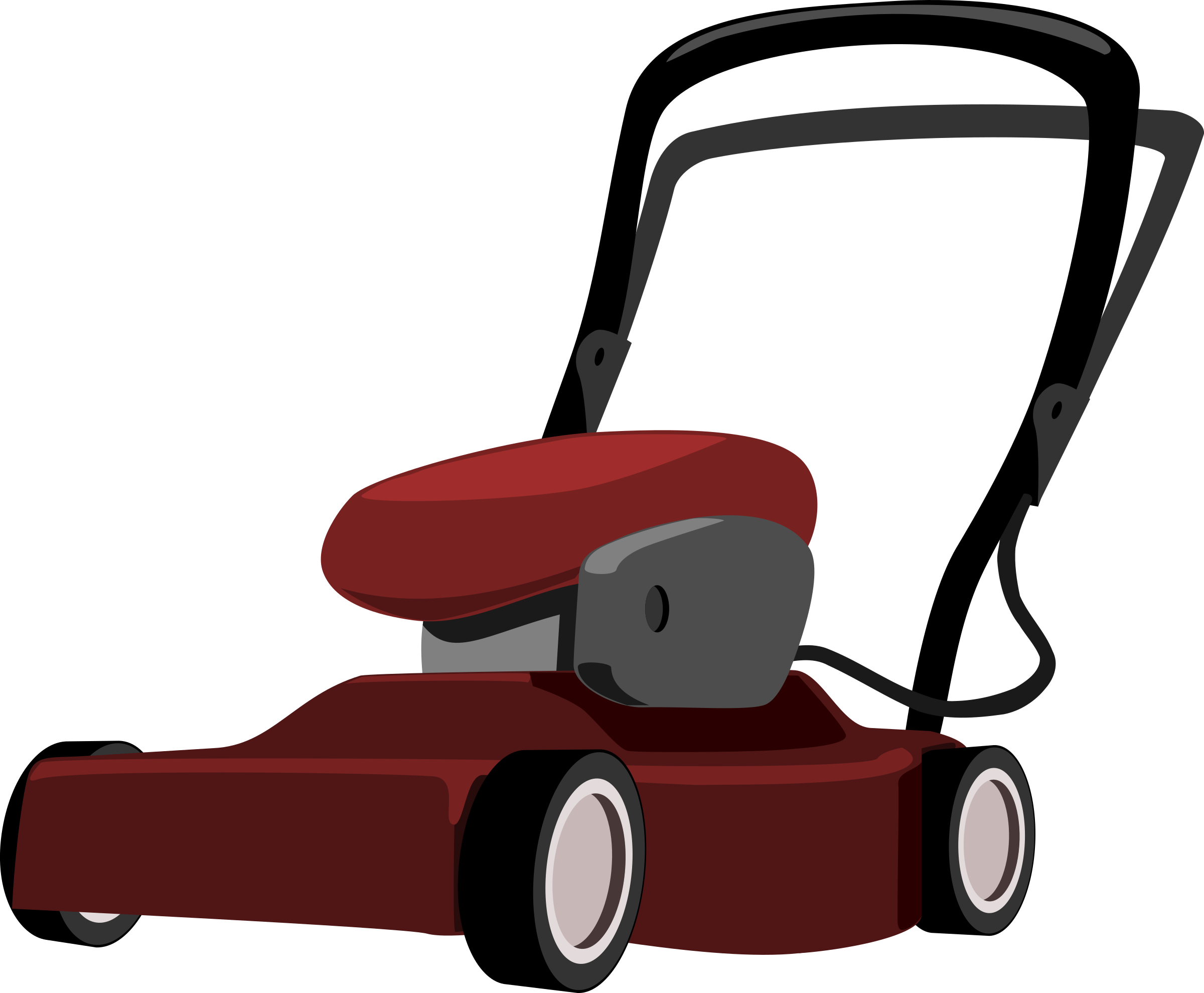 clipart free Big image png. Lawn mower clipart.