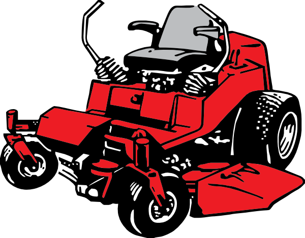 clip art black and white download Lawn Mower Clip Art at Clker